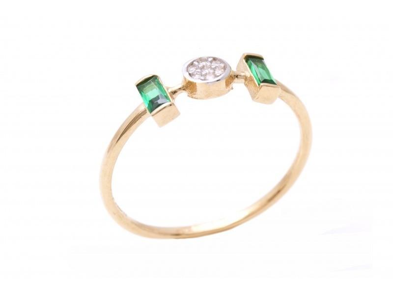 Cadouri bijuterii aur 14k inel dama