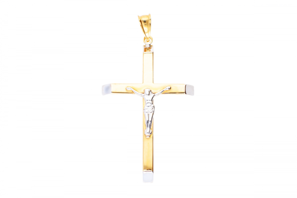 Cruce aur 14K cu Iisus