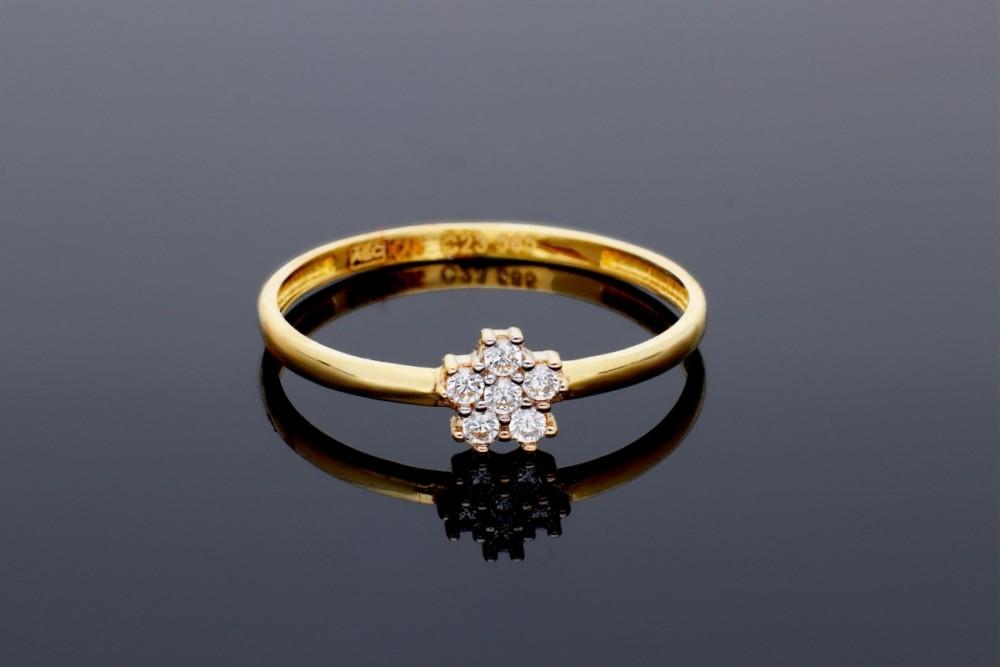 Inel aur 14k bijuterii cadou dama