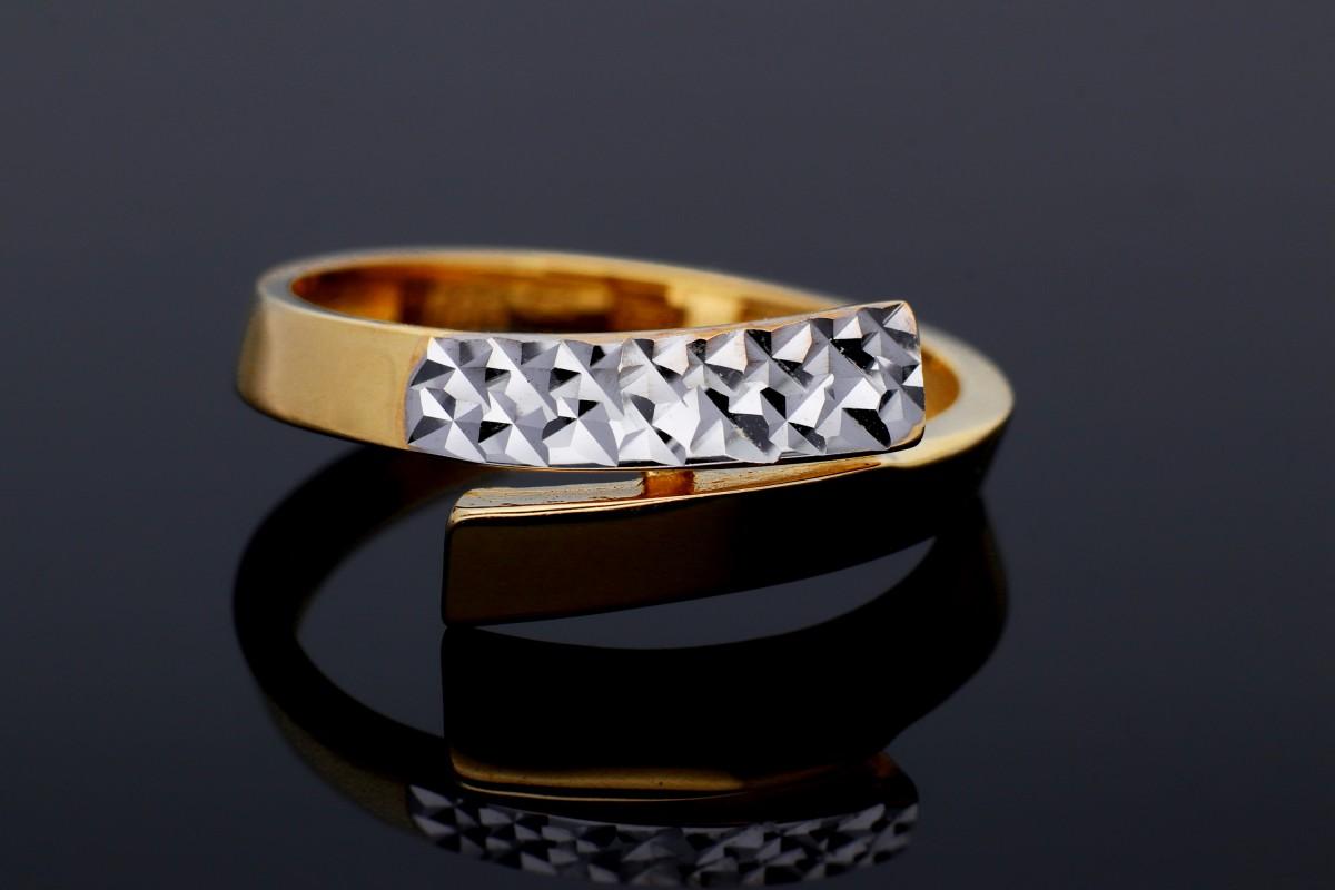 Inel aur 14K bijuterii dama cadou