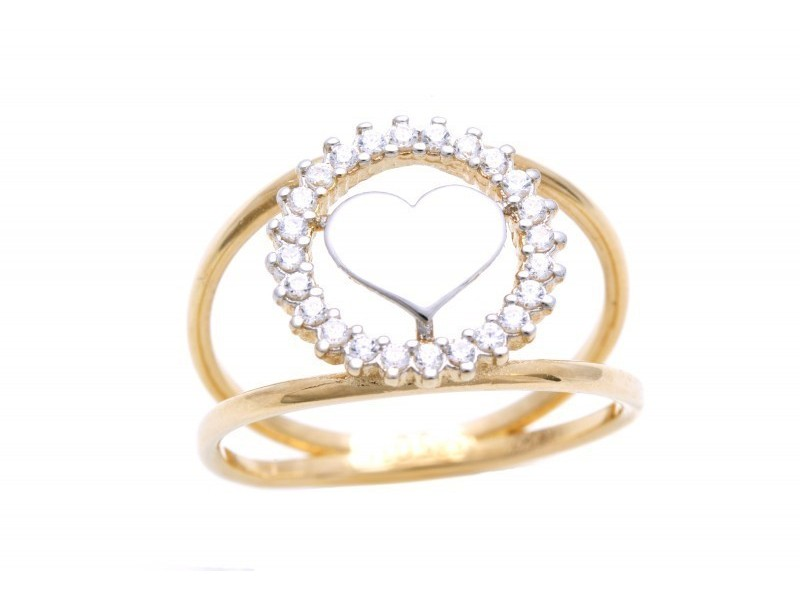 Inel aur cadouri bijuterii #thisheartofmine