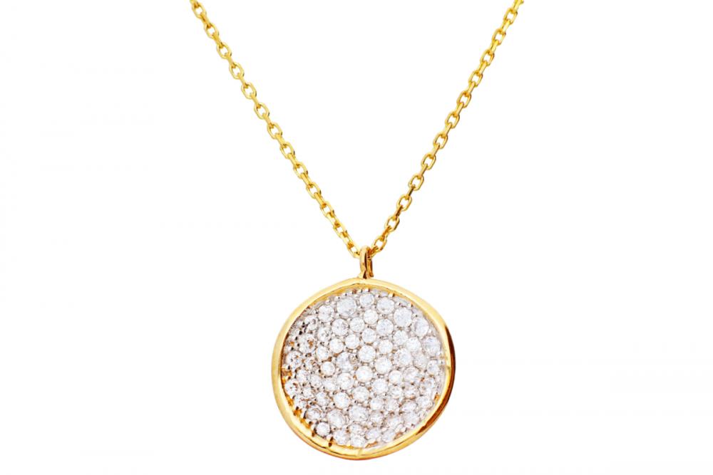 Lant cu pandant cadouri bijuterii cu zirconii