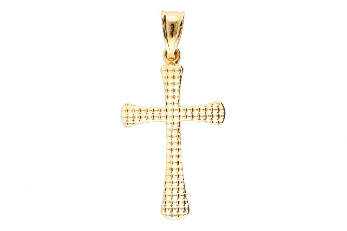 Medalion cruciulita bijuterii aur