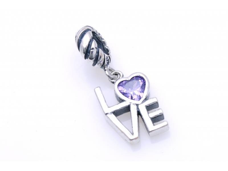 Pandant argint 925 love