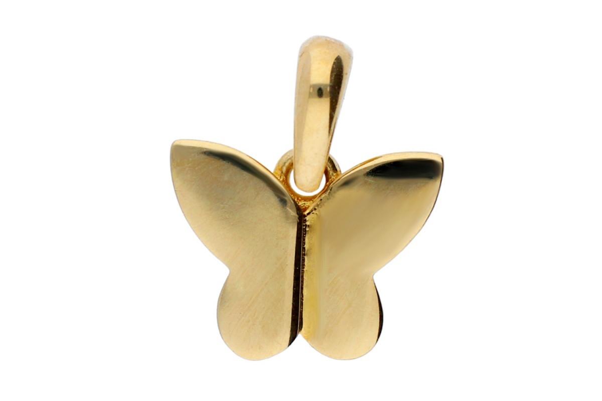 Pandantiv fluturas bijuterii aur 14k